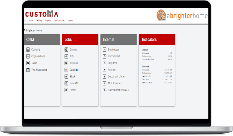 customa service business crm