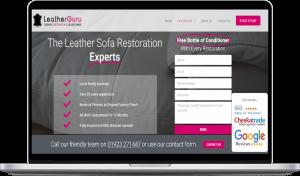 leatherguru website design project